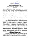 Advanced Directive: Dementia